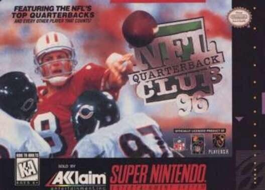 NFL Quarterback Club 96 Display Picture