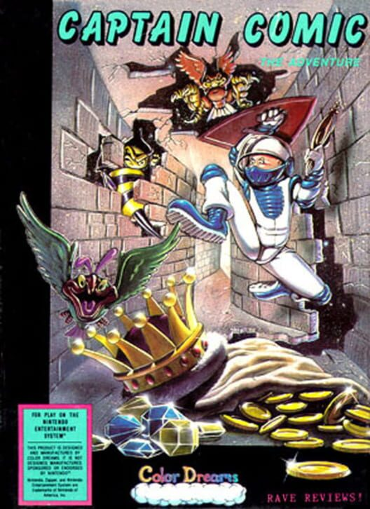 The Adventures of Captain Comic image