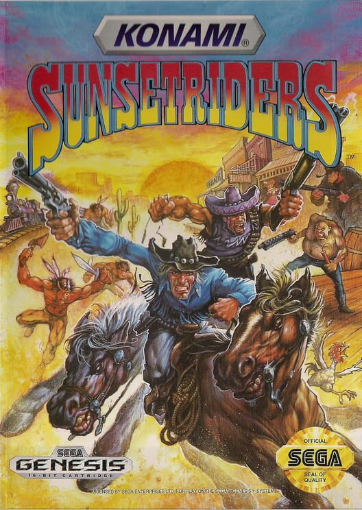 Sunset Riders image