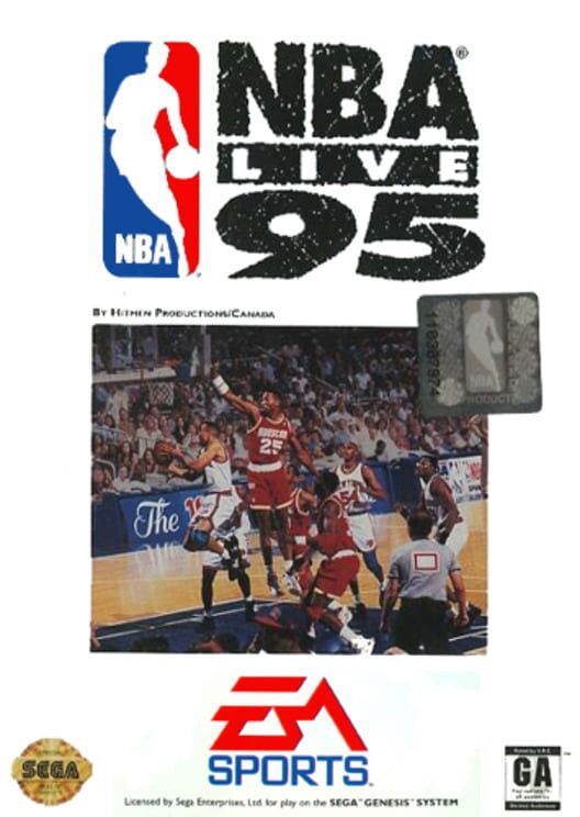 NBA Live 95 Display Picture