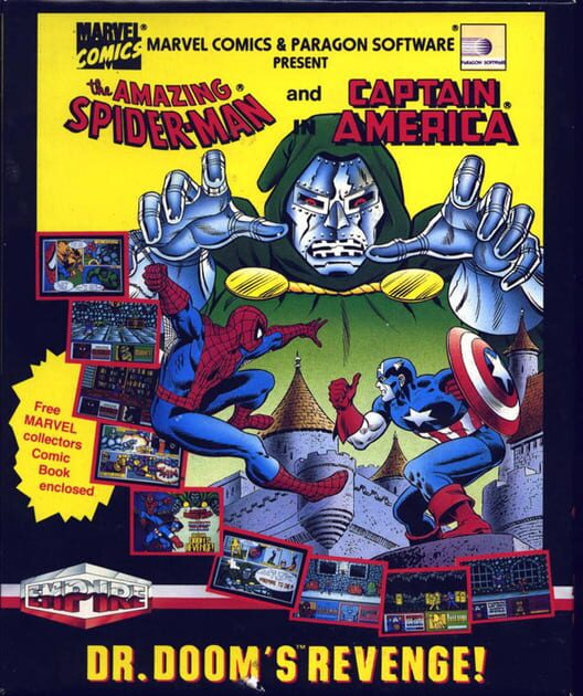The Amazing Spider-Man and Captain America in Dr. Doom's Revenge! image