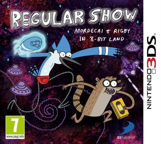 Regular Show: Mordecai and Rigby in 8-Bit Land image