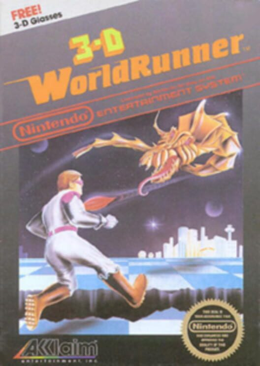 3-D World Runner Display Picture