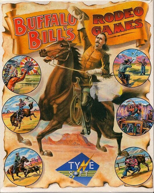 Buffalo Bill's Wild West Show Display Picture