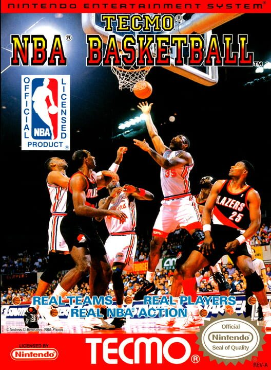 Tecmo NBA Basketball image