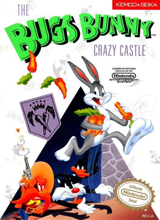 The Bugs Bunny Crazy Castle image
