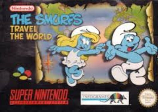 The Smurfs Travel The World Display Picture
