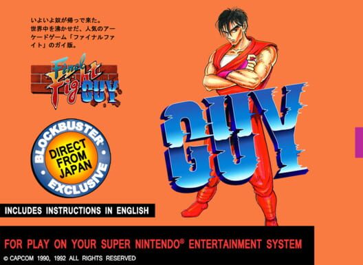 Final Fight Guy Display Picture