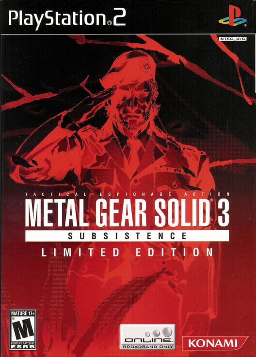 Metal Gear Solid 3: Subsistence - Limited Edition image