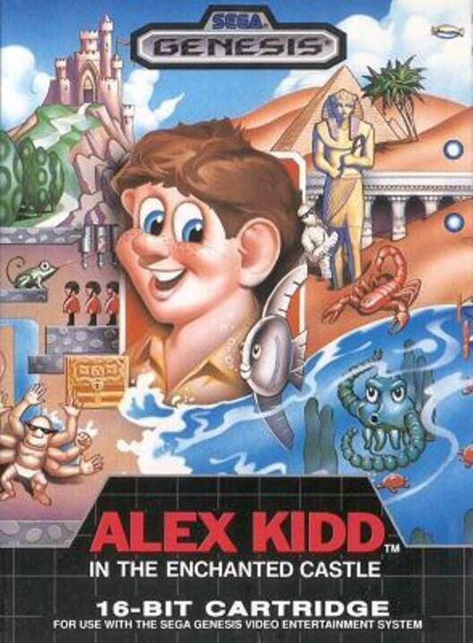 Alex Kidd in the Enchanted Castle Display Picture
