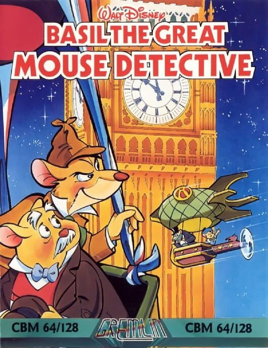 Basil the Great Mouse Detective image
