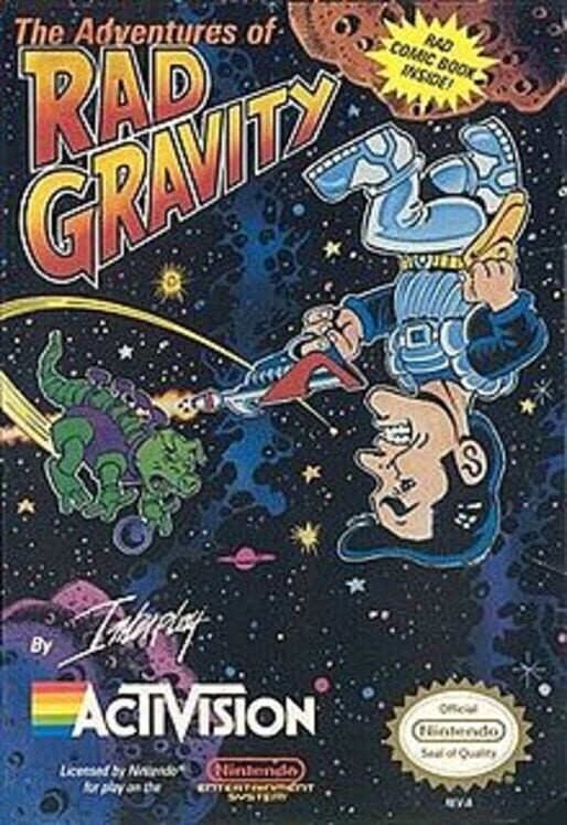 The Adventures of Rad Gravity image