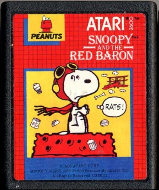 Snoopy and the Red Baron Display Picture