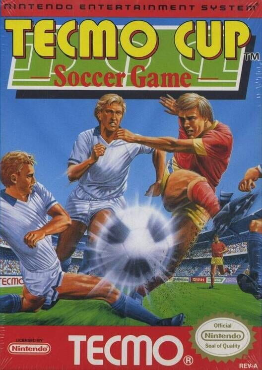 Tecmo Cup Soccer Game image