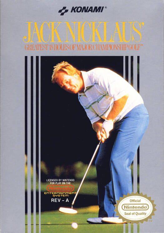 Jack Nicklaus' Greatest 18 Holes of Major Championship Golf image