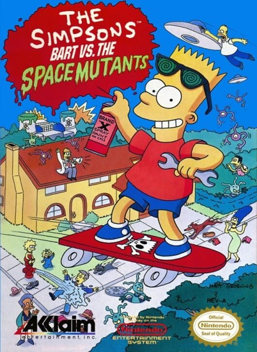 The Simpsons: Bart vs. the Space Mutants image