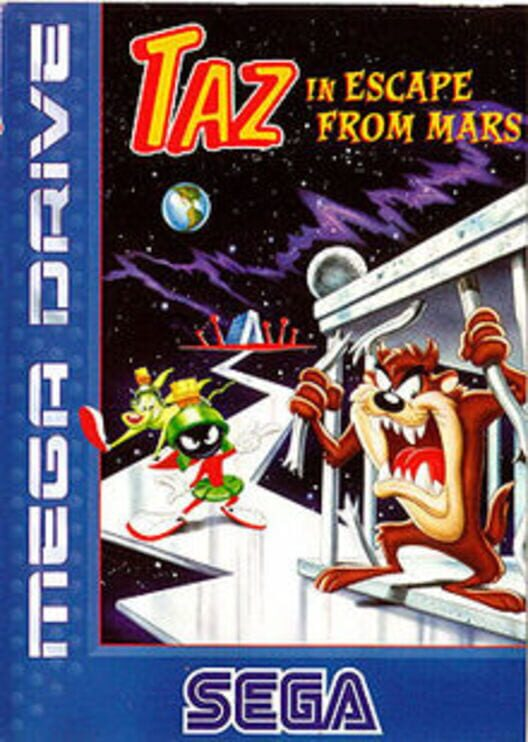 Taz in Escape from Mars Display Picture