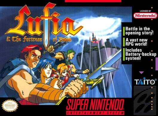 Lufia & the Fortress of Doom image