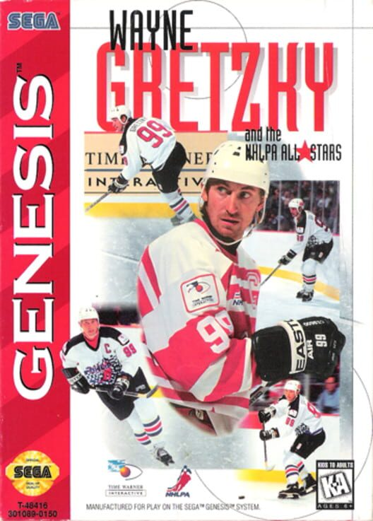 Wayne Gretzky and the NHLPA All-Stars Display Picture