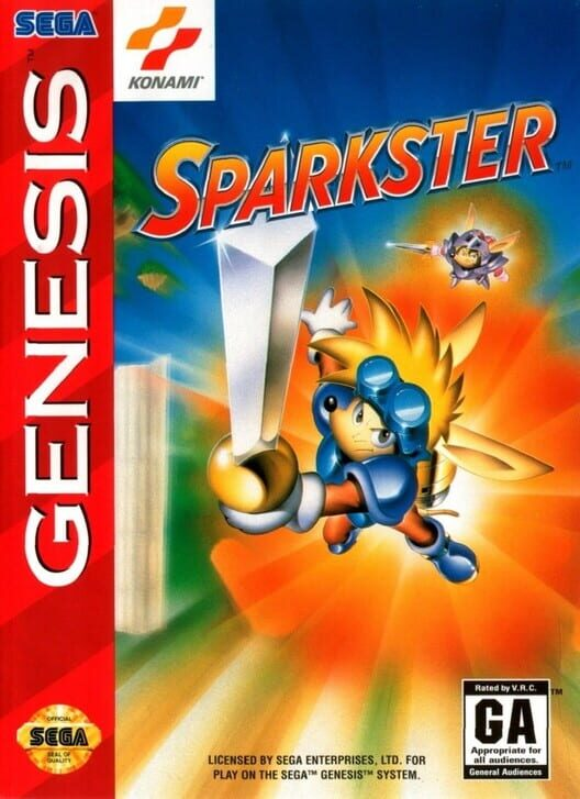 Sparkster: Rocket Knight Adventures 2 Display Picture