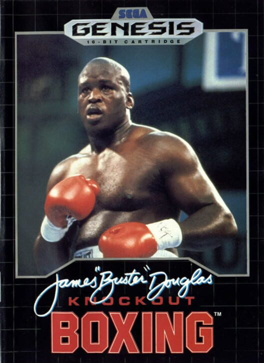 James 'Buster' Douglas Knock Out Boxing image