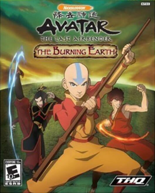 Avatar: The Last Airbender – The Burning Earth Display Picture