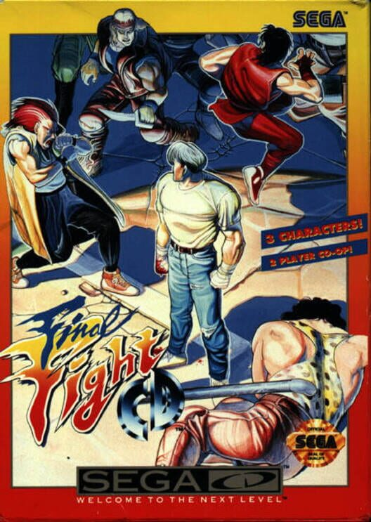 Final Fight CD image