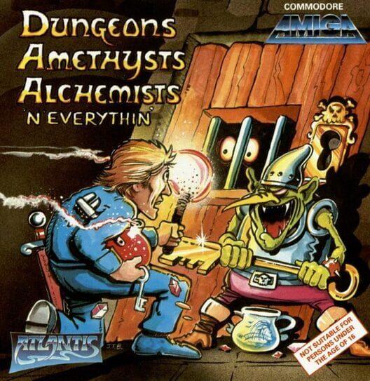 Dungeons, Amethysts, Alchemists 'N' Everythin' image