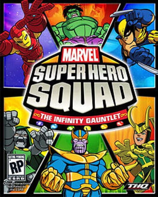 Marvel Super Hero Squad: The Infinity Gauntlet Display Picture