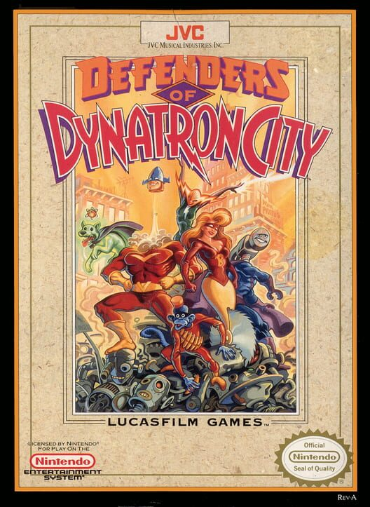 Defenders of Dynatron City Display Picture