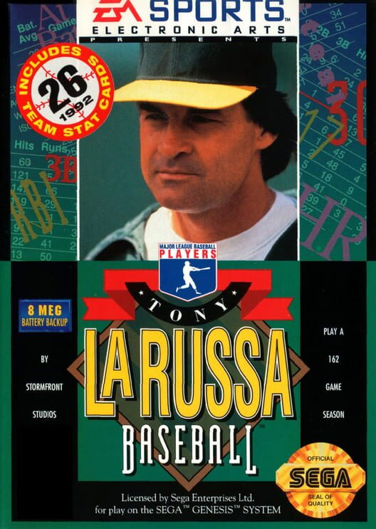 Tony La Russa Baseball Display Picture