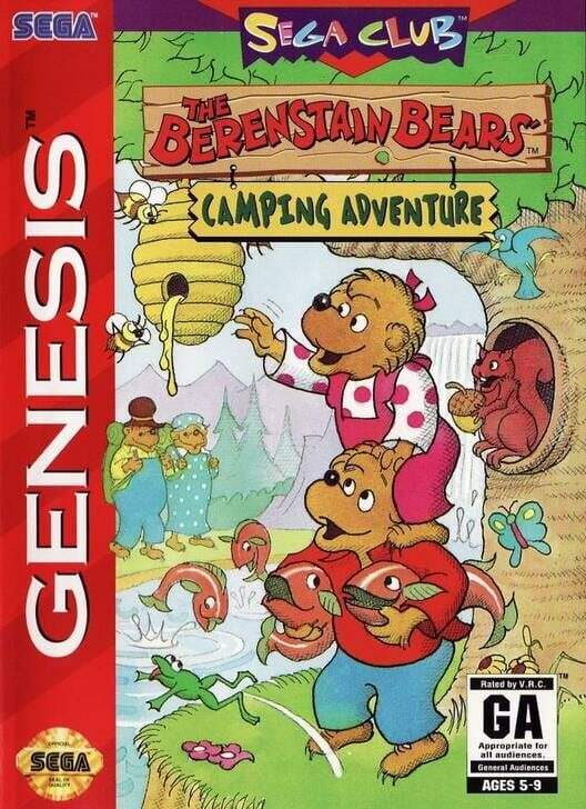 The Berenstain Bears: Camping Adventure Display Picture