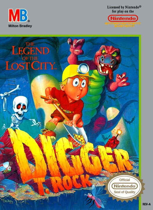 Digger T. Rock: The Legend of the Lost City image