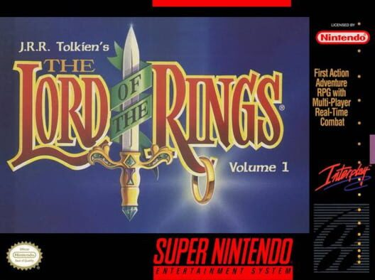 J.R.R. Tolkien's Lord of the Rings: Volume One Display Picture