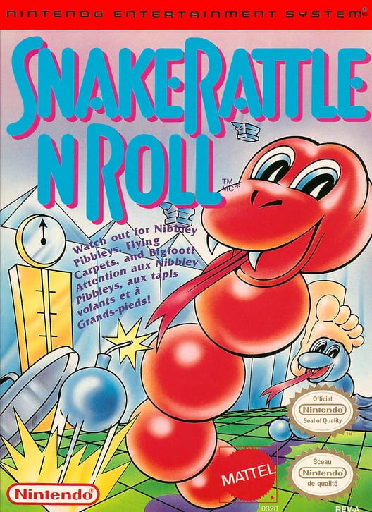 Snake Rattle N Roll Display Picture