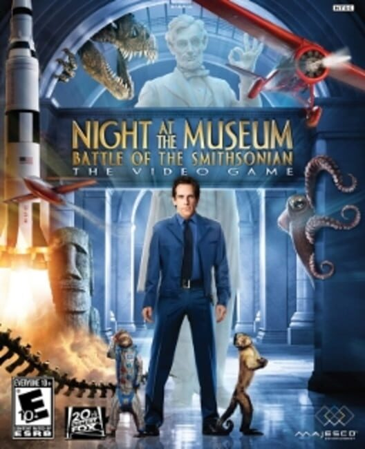 Night at the Museum: Battle of the Smithsonian - The Video Game Display Picture