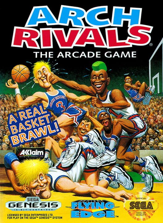 Arch Rivals: The Arcade Game Display Picture