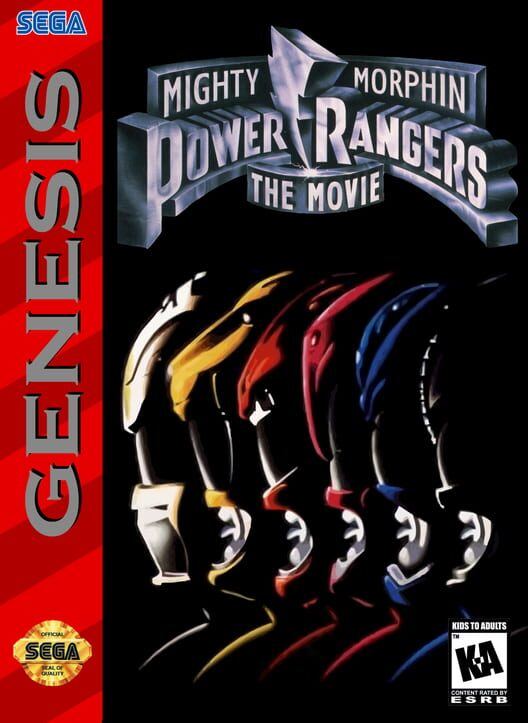 Mighty Morphin Power Rangers: The Movie Display Picture