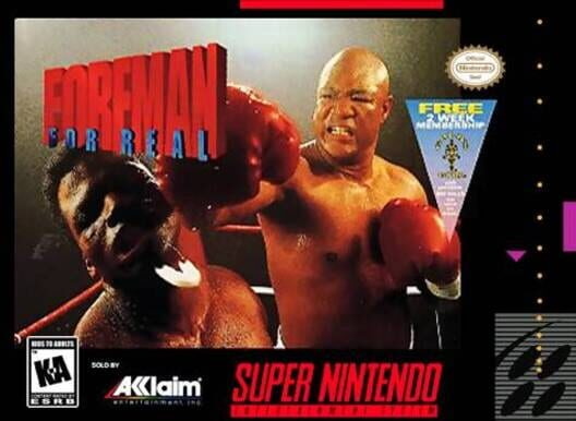 Foreman For Real Display Picture
