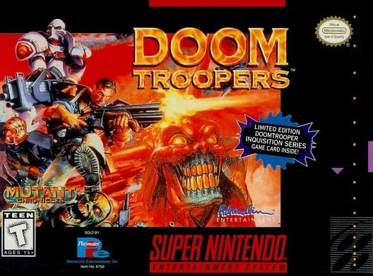 Doom Troopers: Mutant Chronicles Display Picture