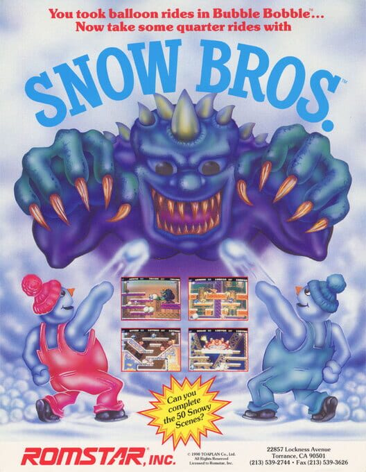 Snow Bros. Display Picture