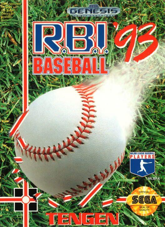 R.B.I. Baseball '93 image