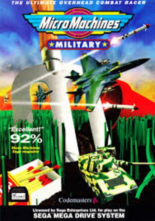 Micro Machines Military Display Picture