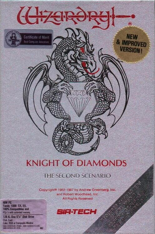 Wizardry: Knight of Diamonds - The Second Scenario image