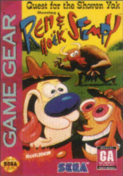 Quest for the Shaven Yak Starring Ren Hoëk and Stimpy image