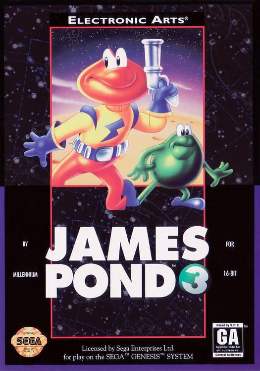 James Pond 3: Operation Starfish Display Picture