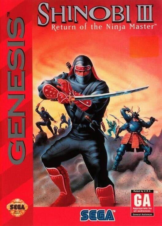 Shinobi III: Return of the Ninja Master Display Picture
