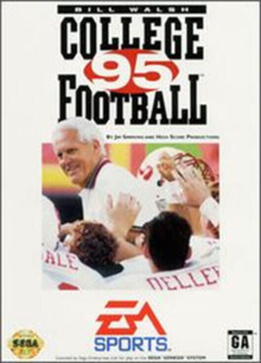 Bill Walsh College Football '95 image