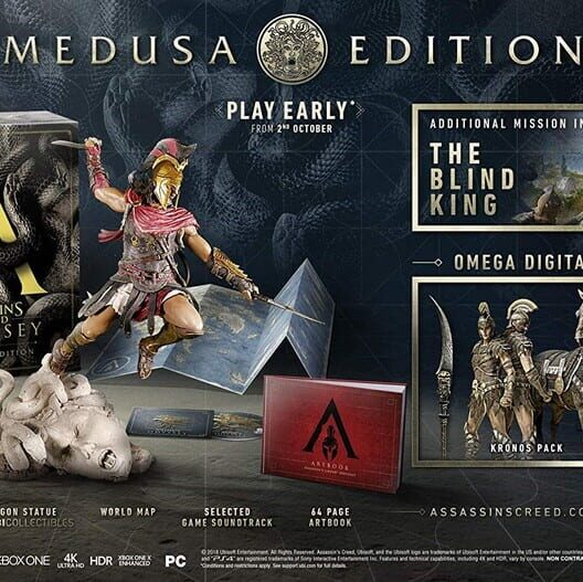 Assassin's Creed: Odyssey - Medusa Edition image