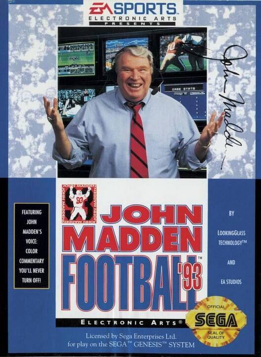 John Madden Football '93 image